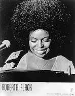 Roberta Flack Promo Print