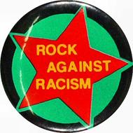 Rock Against Racism Vintage Pin