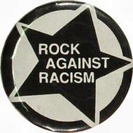 Rock Against Racism Vintage Pin