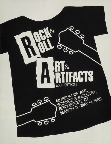 Rock and Roll Art and Artifacts Exhibition Program