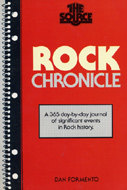 Rock Chronicle Book