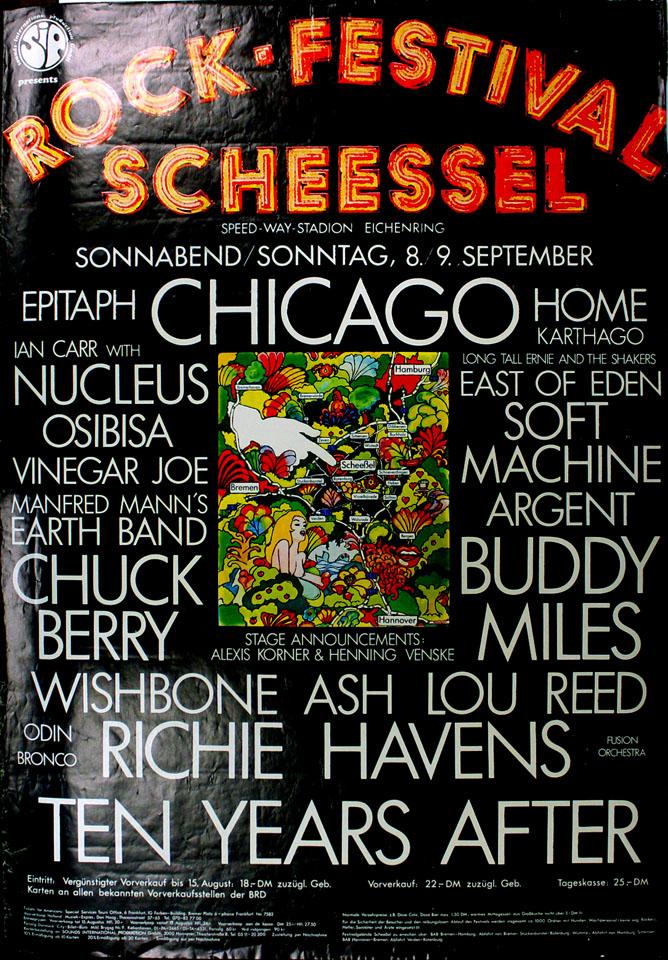 Rock-Festival Scheessel Poster