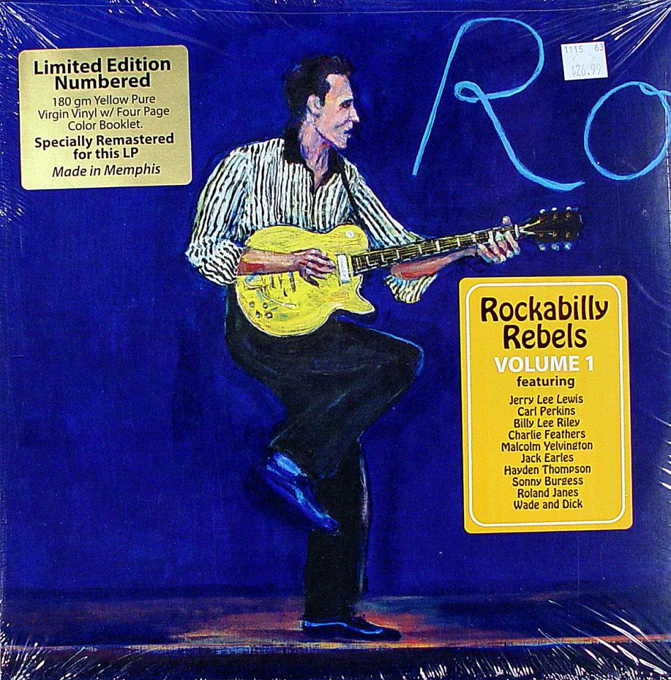 rockabilly rebels volume 1 vinyl 12 new. Black Bedroom Furniture Sets. Home Design Ideas