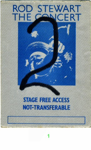 Rod StewartBackstage Pass