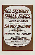 Rod Stewart Handbill