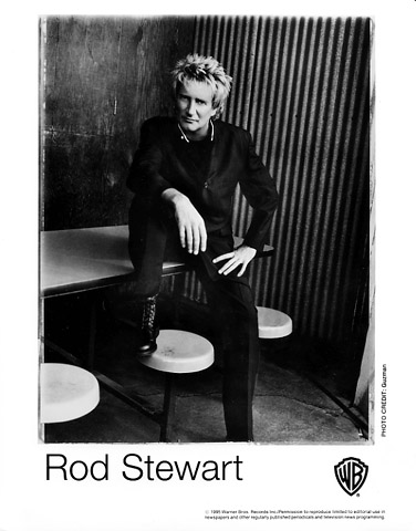 Rod Stewart Promo Print