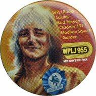 Rod Stewart Vintage Pin