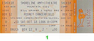Rodney Dangerfield1980s Ticket