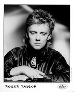 Roger Taylor Promo Print