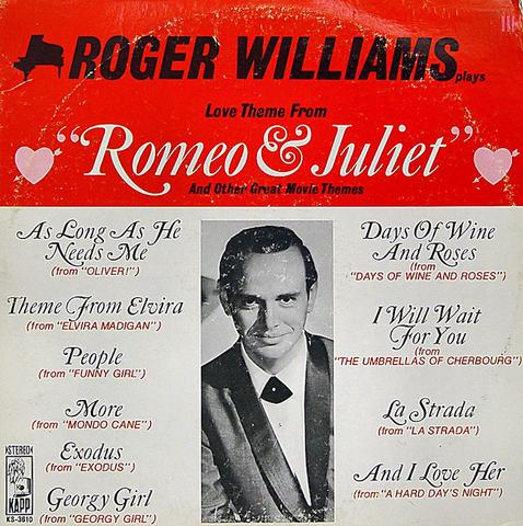 Roger Williams Vinyl (Used)