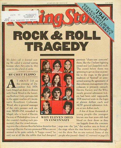 Rolling Stone Magazine, Issue 309Rolling Stone Magazine