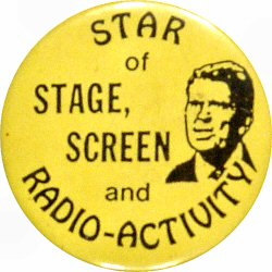Ronald Reagan Vintage Pin