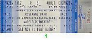 Roseanne Barr 1980s Ticket