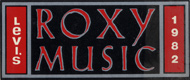 Roxy Music Sticker