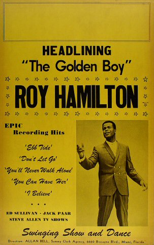 Roy HamiltonPoster