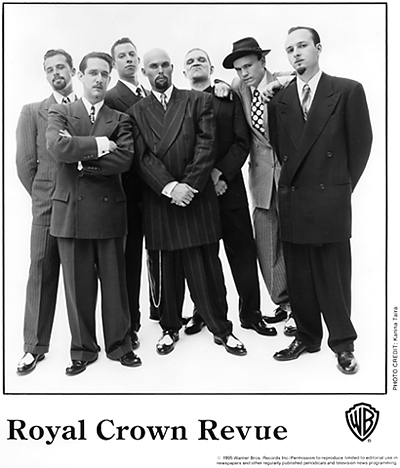 Royal Crown Revue Promo Print