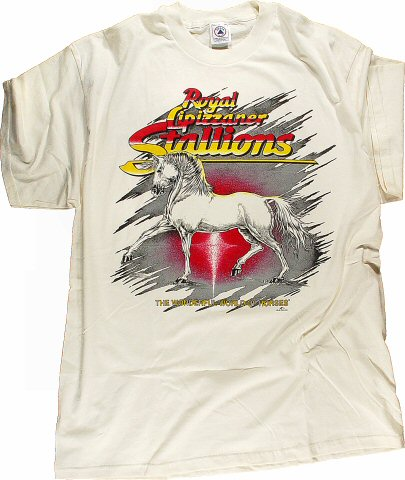 Royal Lipizzaner Stallions Men's Vintage T-Shirt
