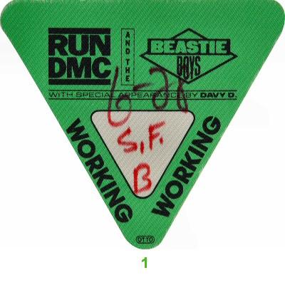 Run-D.M.C.Backstage Pass