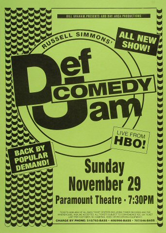 Russell Simmons' Def Comedy JamPoster