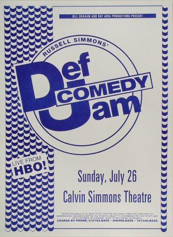 Russell Simmons' Def Jam Comedy Poster