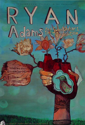 Ryan Adams and the Sweetheart Revolution Poster