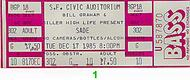 Sade 1980s Ticket