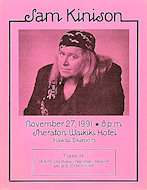 Sam Kinison Handbill