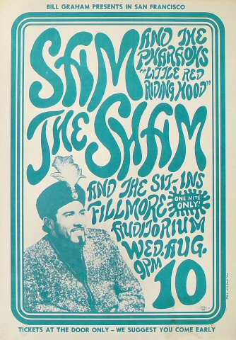 Sam the Sham & the Pharoahs Poster