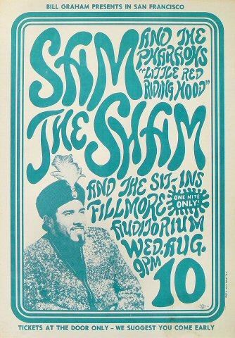 Sam the Sham &amp; the Pharoahs Poster