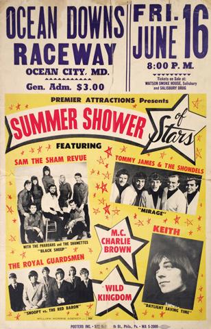 Sam the Sham Revue Poster