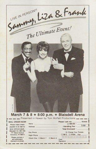 Sammy Davis Jr. Handbill