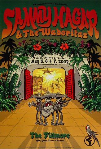 Sammy Hagar & the Waboritas Poster