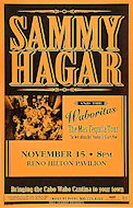 Sammy Hagar &amp; the Waboritas Poster