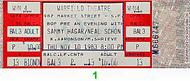 Kenny Aaronson 1980s Ticket