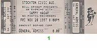 Sammy Hagar 1990s Ticket