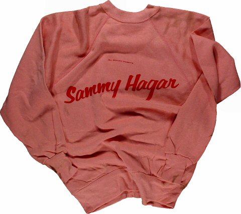 Sammy Hagar Men's Vintage Sweatshirts