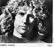 Sammy Hagar Promo Print