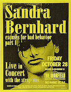 Sandra Bernhard Handbill