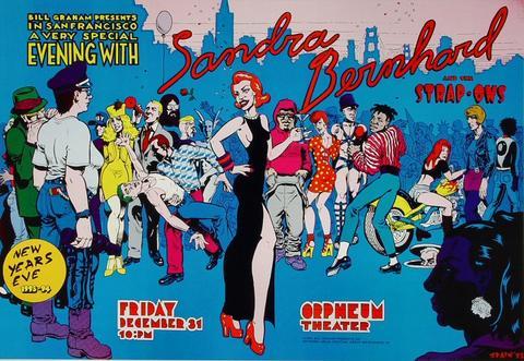 Sandra Bernhard Poster