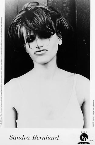 Sandra Bernhard Promo Print