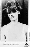 Sandra Bernhard Promo Print