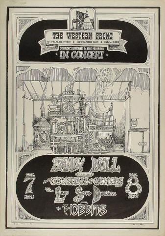Sandy Bull Poster