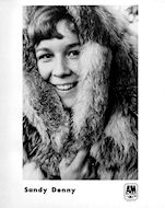 Sandy Denny Promo Print