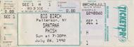 Santana 1990s Ticket