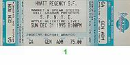 War 1990s Ticket