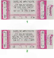 Steve Miller 1990s Ticket