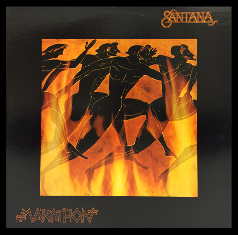 Santana Framed Album Cover