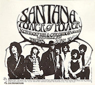 Santana Handbill