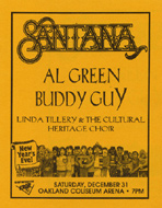 Linda Tillery and the Cultural Heritage Choir Handbill