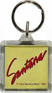 Santana Plastic Keychain
